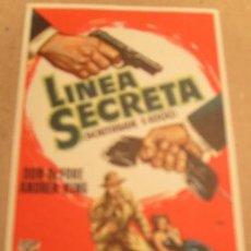 Cine: LINEA SECRETA. Lote 215051136