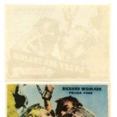 Cine: LA LEY DEL TALION, CON RICHARD WIDMARK.. Lote 267861974