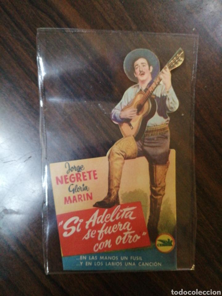 PROGRAMA DE CINE DE JORGE NEGRETE (Cine - Folletos de Mano - Musicales)