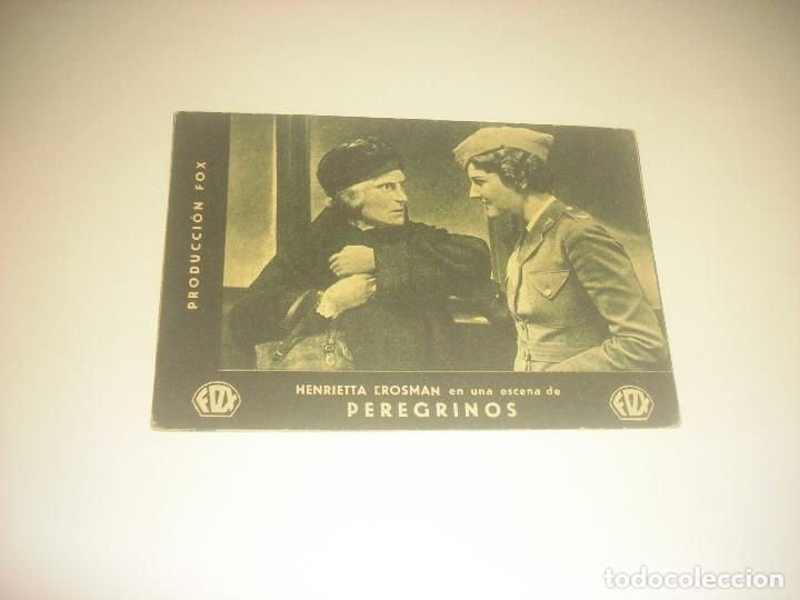 PEREGRINOS , PRODUCCION FOX. CON HENRIETTA CROSMAN . CINE BEL 1934. (Cine - Folletos de Mano - Drama)
