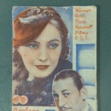 Foglietti di film di film antichi di cinema: LA NOVIA SECRETA - PROGRAMA DOBLE.. Lote 216766558