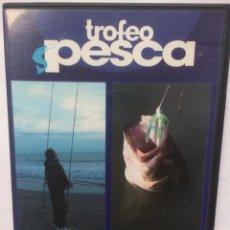 Cine: TROFEO PESCA DVD SURFCASTING DE LA A A LA Z / PESCANDO TRUCHAS Y BLACK BASS. Lote 216939865
