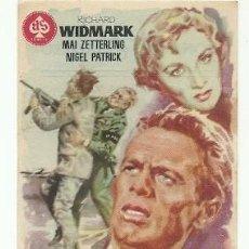 Folhetos de mão de filmes antigos de cinema: PROGRAMA CINE ATRACO EN LAS NUBES. Lote 217199926