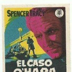 Folhetos de mão de filmes antigos de cinema: PROGRAMA CINE EL CASO O'HARA SPENCER TRACY. Lote 217205075