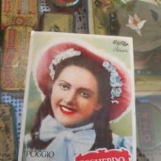 Cine: PROGRAMA DE CINE. RECUERDO DE AMOR. PATRONATO SOCIAL FEMENINO. MALLORCA. ESTADO VER IMÁGENES.. Lote 217472231