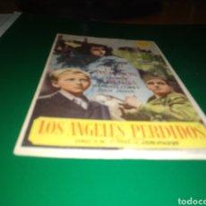 Cine: ANTIGUO PROGRAMA DE CINE SIMPLE. LOS ÁNGELES PERDIDOS. Lote 217826888
