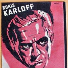 Cine: EL HOMBRE QUE TROCÓ SU MENTE, CON BORIS KARLOFF.. Lote 217909577