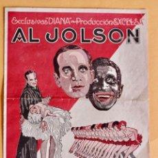 Foglietti di film di film antichi di cinema: PROGRAMA - EL CANTOR DE JAZZ- 1º PELICULA CANTADA ESTRENO CINE GAYARRE- AL JOLSON. Lote 217912647