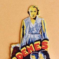 Cine: ORDENES SECRETA - TROQUELADO - UFATON 1931. Lote 218007407