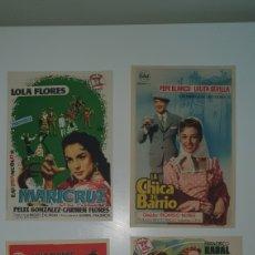 Cine: CUATRO CARTELES DE CINE AÑOS 70.. Lote 218061808