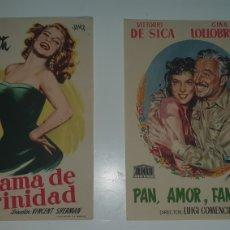 Cine: DOS CARTELES DE MANO CINE AÑOS 70.. Lote 218061992