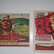 Cine: DOS CARTELES DE MANO CINE AÑOS 70.. Lote 218062496