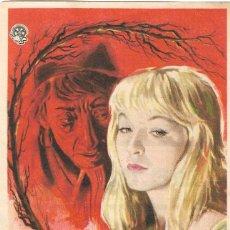 Cine: PN - PROGRAMA DE CINE - LA BRUJA - MARINA VLADY, MAURICE RONET - CINE ECHEGARAY (MÁLAGA) - 1956.. Lote 218118353