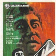 Cine: PN - PROGRAMA DE CINE - LA CÁMARA DE LOS HORRORES - CESARE DANOVA - CINE CAPITOL (MÁLAGA) - 1966.. Lote 218120640