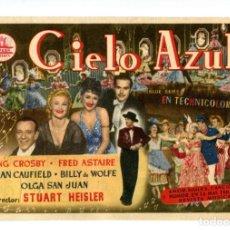 Flyers Publicitaires de films Anciens: EL CIELO AZUL, CON FRED ASTAIRE.. Lote 218161691