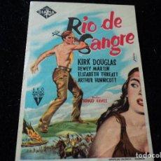 Cine: RÍO DE SANGRE - KIRK DOUGLAS. Lote 218298846