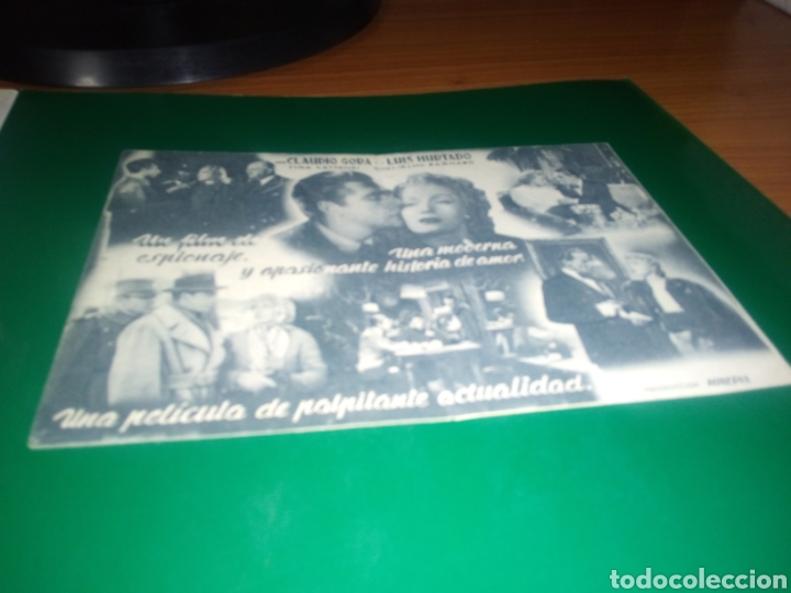Cine: Antiguo programa de cine doble Documento Z3 - Foto 2 - 218308096