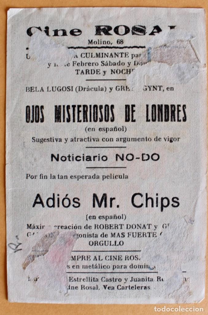 Cine: LOS OJOS MISTERIOSOS DE LONDRES (The Dark Eyes of London) (EXCLUSIVAS HUET) Bela Lugosi - Foto 2 - 218559223