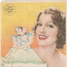 Cine: PN - PROGRAMA DE CINE - LA ESPÍA DE CASTILLA - JEANETTE MACDONALD - PRINCIPAL CINEMA (MÁLAGA) - 1937. Lote 218660903