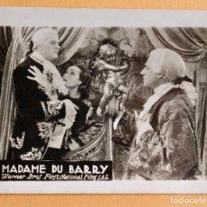 Flyers Publicitaires de films Anciens: MADAME DU BARRY- CINE FANTASIO - 1934. Lote 218701688