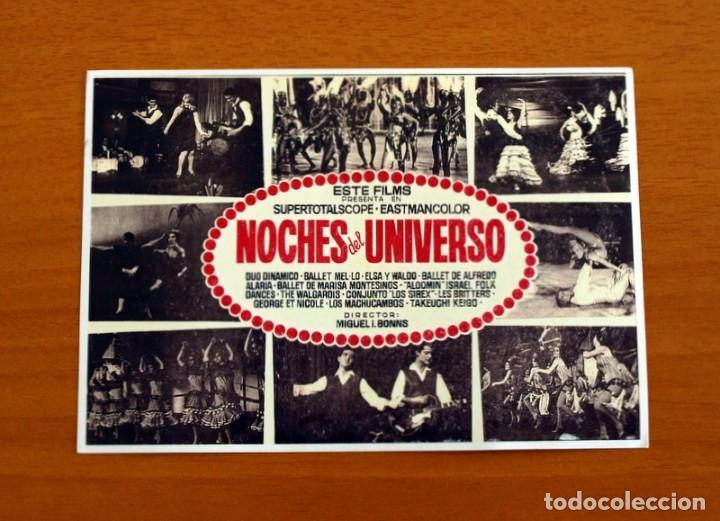 NOCHES DEL UNIVERSO - AÑO 1964 - DUO DINAMICO, BALLET MEL-LO-ELSA Y WALDO - FOLLETO DE CINE - (Cine - Folletos de Mano - Musicales)