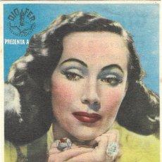 Cine: PN - PROGRAMA DE CINE - LA OTRA - DOLORES DEL RÍO, VÍCTOR JUNCO - CINE GOYA (MÁLAGA) - 1946.. Lote 218715633