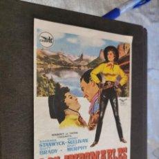 Folhetos de mão de filmes antigos de cinema: PROGRAMA DE MANO ORIG - LOS INDOMABLES - SIN CINE IMPRESO AL DORSO. Lote 218725335