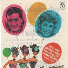 Cine: PN - PROGRAMA DE CINE - LA REVISTA SOÑADA - TEDDY RENO - CINE CASABLANCA (ORIHUELA) - 1959.. Lote 218728047