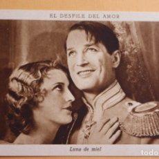 Cine: EL DESFILE DEL AMOR -1929 - LUNA DE MIEL- CHOCOLATE JUNCOSA. Lote 218796031