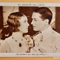 Cine: EL DESFILE DEL AMOR -1929 -SI OLVIDARA QUE SOIS UNA REINA...- CHOCOLATE JUNCOSA. Lote 218796103