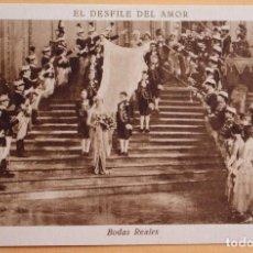 Cine: EL DESFILE DEL AMOR -1929 - BODAS REALES - CHOCOLATE JUNCOSA. Lote 218796228