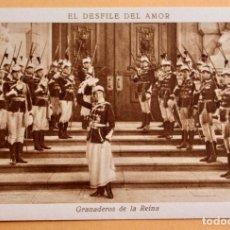 Cine: EL DESFILE DEL AMOR -1929 - GRANADEROS DE LA REINA - CHOCOLATE JUNCOSA. Lote 218796397