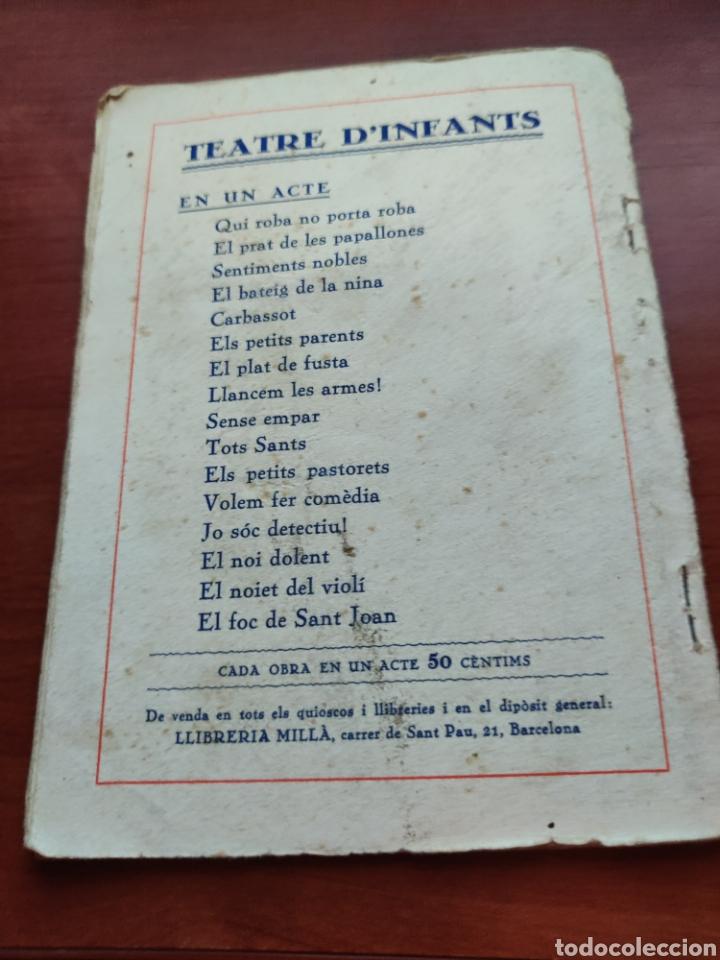 Cine: Teatre D infants el noiet del violi episodi sentimental en un acte original de j. Ros Artigas 1936 - Foto 3 - 218797710