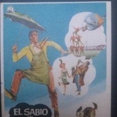 Cine: EL SABIO EN APUROS. Lote 218854158