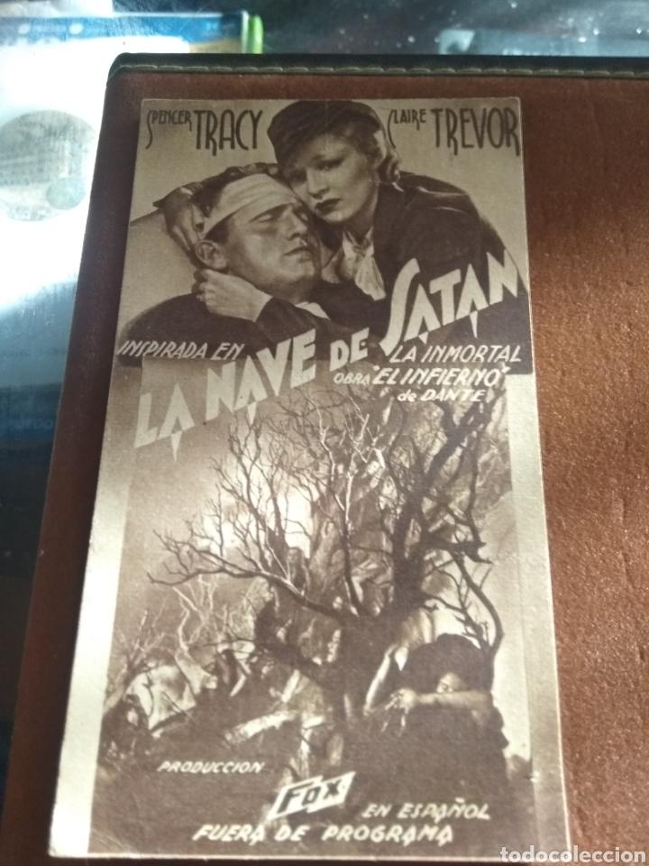 Cine: Lote 3 Programas Cine Antiguos 1936 - Foto 2 - 219097048