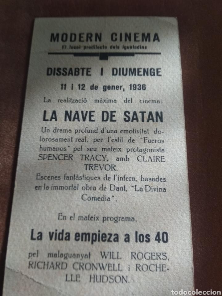 Cine: Lote 3 Programas Cine Antiguos 1936 - Foto 3 - 219097048