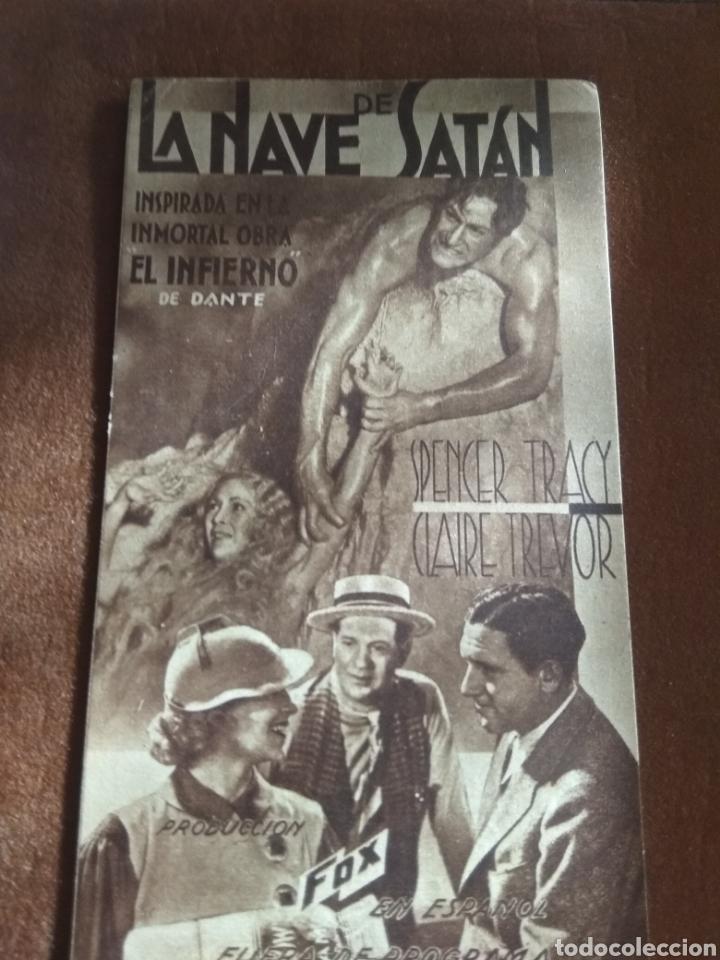 Cine: Lote 3 Programas Cine Antiguos 1936 - Foto 4 - 219097048