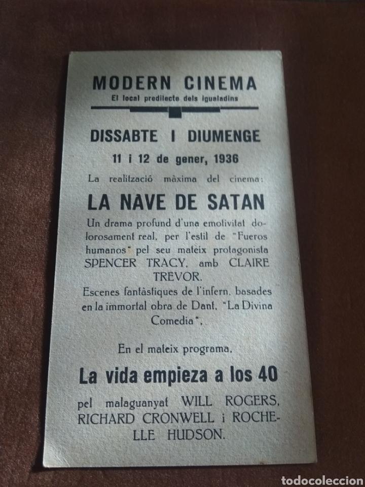 Cine: Lote 3 Programas Cine Antiguos 1936 - Foto 7 - 219097048