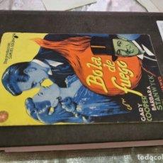 Folhetos de mão de filmes antigos de cinema: PROGRAMA DE MANO ORIG DOBLE - BOLA DE FUEGO - CON CINE IMPRESO AL DORSO. Lote 219124891