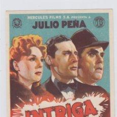 Cine: INTRIGA. PROGRAMA DE CINE. SENCILLO SIN PUBLICIDAD.. Lote 219213302