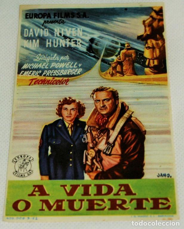 Cine: Cuatro programas de mano originales de cine bélico y de acción. - Foto 2 - 219221717