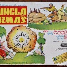 Cine: LA JUNGLA EN ARMAS - GARY COOPER - 1939. Lote 219269048