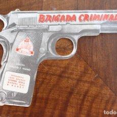 Cine: BRIGADA CRIMINAL - TROQUELADO- 1950. Lote 219271355