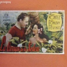 Cine: LA VENUS DE LA SELVA. MARIA MONTEZ. ANDY DEVINE.. Lote 219272210