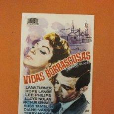 Cine: VIDAS BORRASCOSAS. LANA TURNER. HOPE LANGE.. Lote 219272331