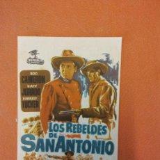Cine: LOS REBELDES DE SAN ANTONIO. JOSEPH KANE. ROD CAMERON.. Lote 219272458