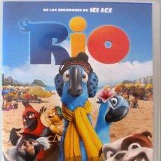 Cine: DVD- DIBUJOS ANIMADOS - RIO. Lote 219314168