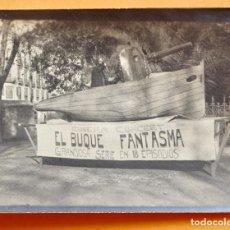 Foglietti di film di film antichi di cinema: CINEMA CONCERT- 1919- EL BUQUE FANTASMA- EMOCIONANTE SERIE EN 18 EPISODIOS. Lote 219517455