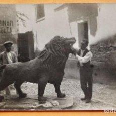 Foglietti di film di film antichi di cinema: CINEMA CONCERT- 1919- EN LAS GARRAS DEL LEON- EMOCIONANTE SERIE EN 18 EPISODIOS. Lote 219518330