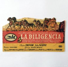 Cine: PROGRAMA CINE - LA DILIGENCIA - JOHN FORD - 1939. Lote 219617047